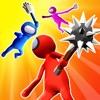 Stickman Smasher: Clash3D game - iPadアプリ