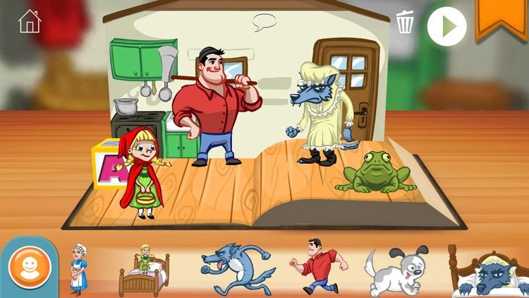 StoryToys Red Riding Hood screenshot-3