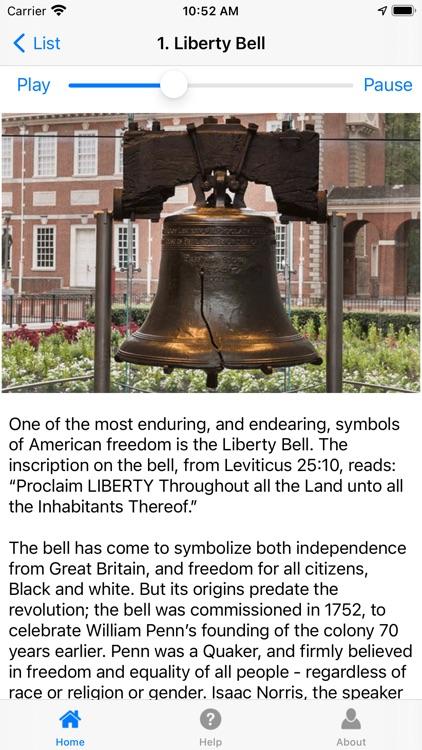 Philadelphia History Tour screenshot-6