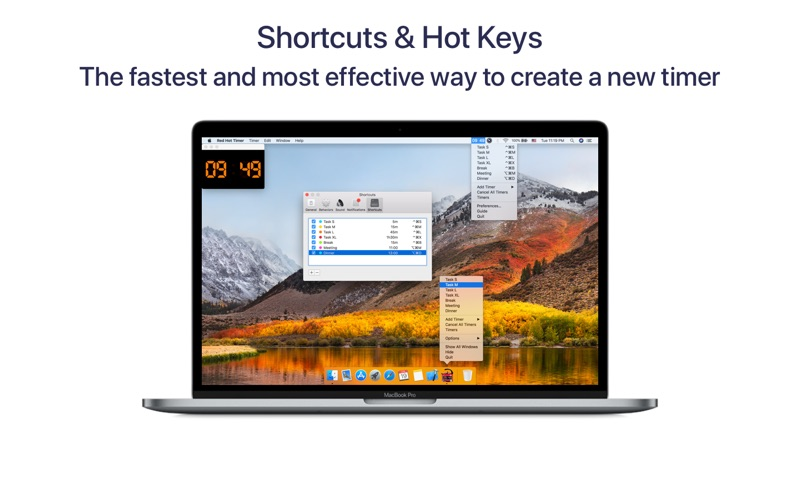Red Hot Timer for Mac