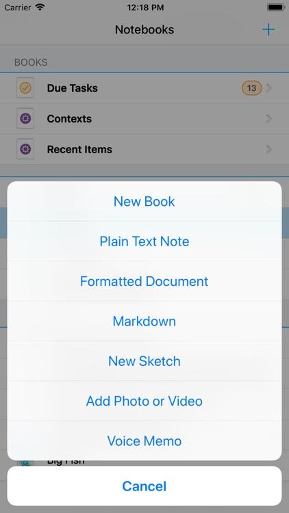 Notebooks for iPhone screenshot-5