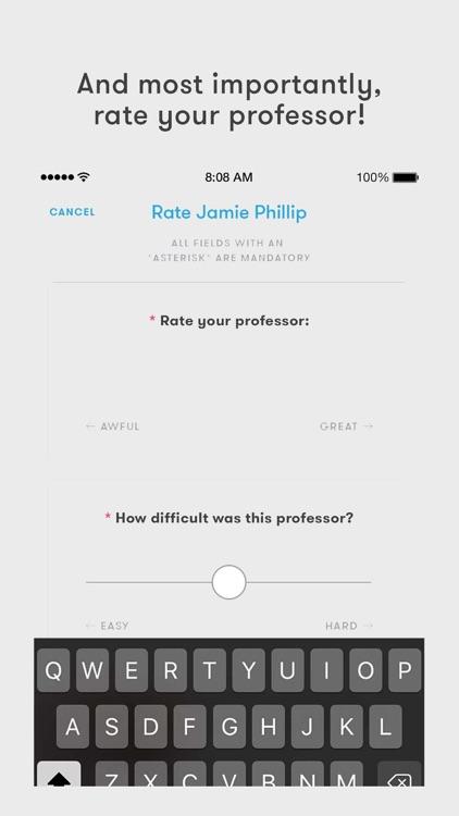 Rate My Professors screenshot-4