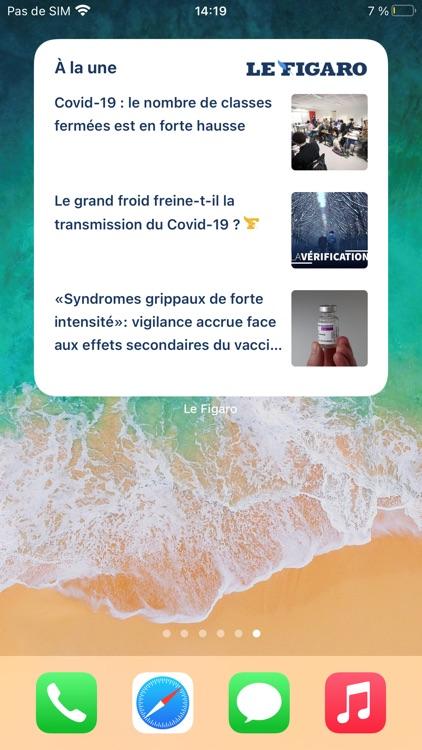 Le Figaro : Actualités et Info screenshot-5