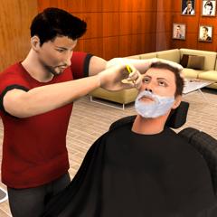 Virtuelle Friseur Friseursalon
