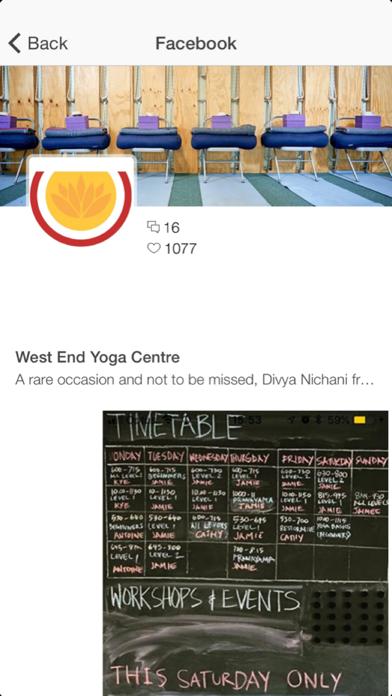 West End Yoga screenshot two