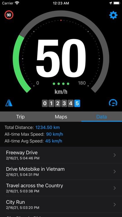 Speedo - Smart GPS Speedometer screenshot-4