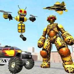 Bee Robot Car Transform Game