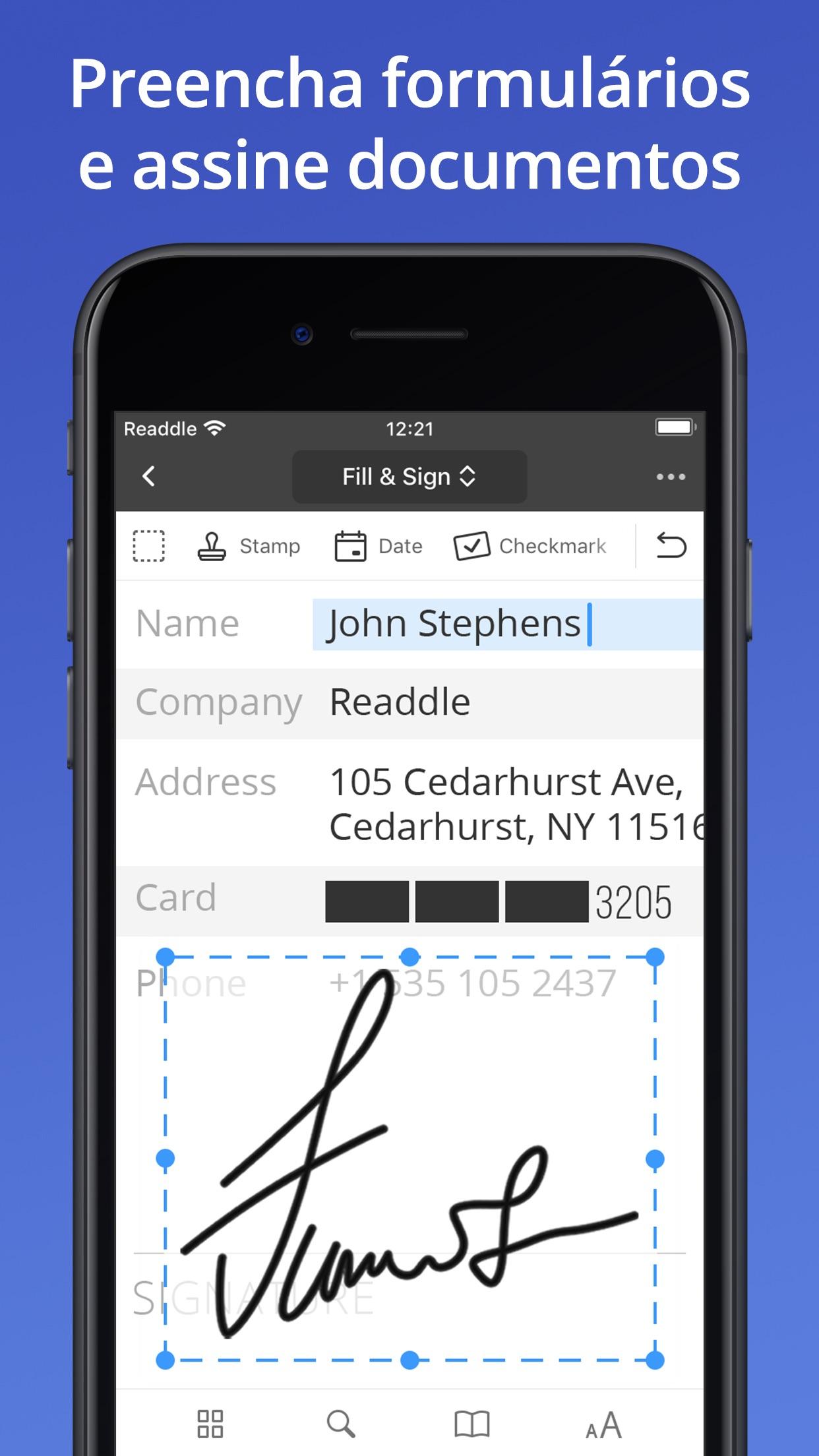 Screenshot do app PDF Expert 7: editar PDF