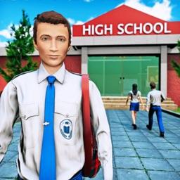 Virtual High School Fun Game