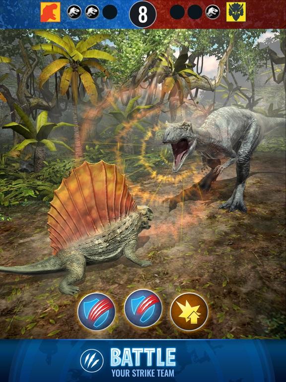 Jurassic World Alive screenshot 8