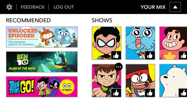Cartoon network app on the app store screenshots thecheapjerseys Choice Image