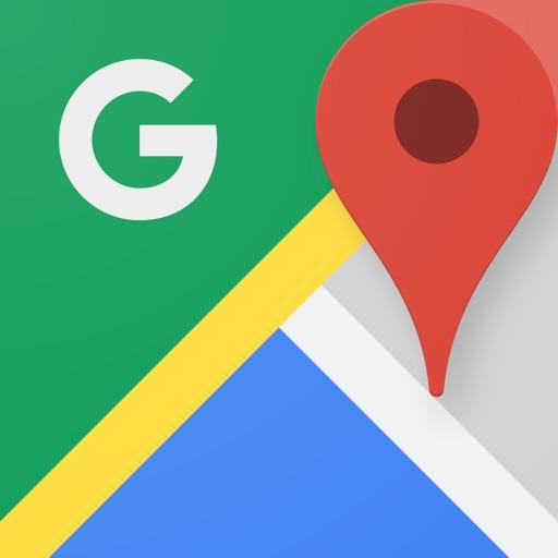 Icone Google Maps - GPS & Transports