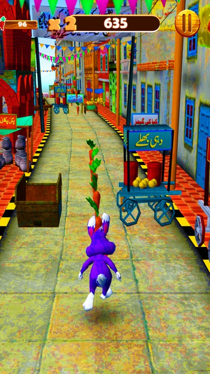 Bunny Dash Rush Runner 3D screenshot-3