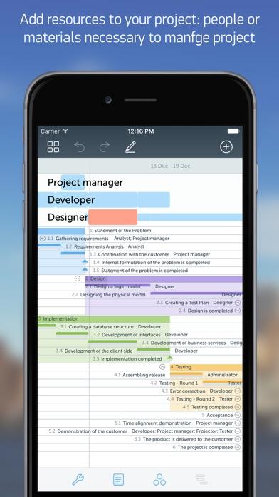 Project office gantt chart app price drops screenshot 10 for project office gantt chart ccuart Gallery