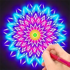 魔法涂鴉 - 輕松就能畫出漂亮的圖案