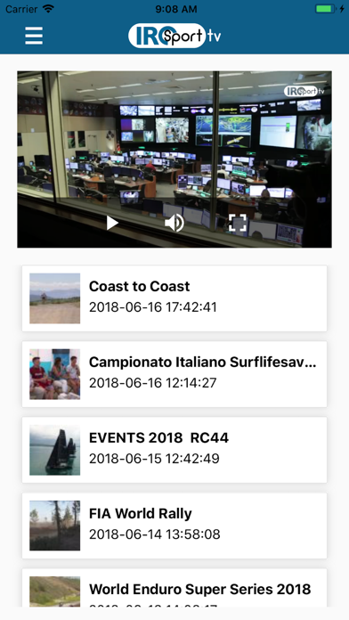 IRC Sport TV screenshot one