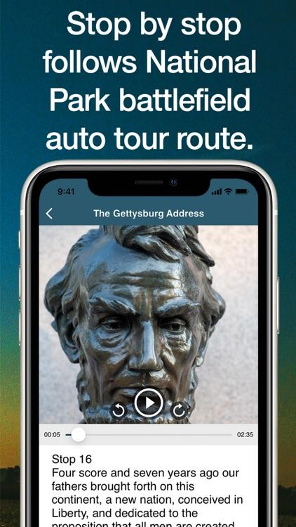 HereStory Gettysburg Auto Tour screenshot-5