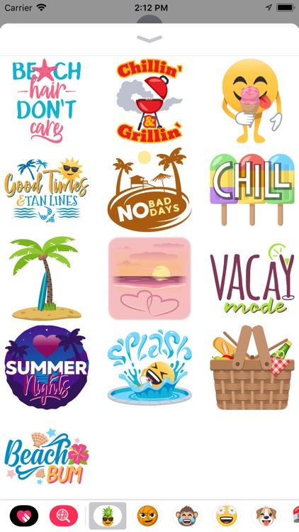 Summer Fun by EmojiOne screenshot-3