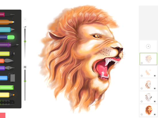 iPad Image of Drawing Desk: Draw, Paint Apps