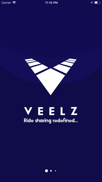 Veelz - Ride Sharing Redefined