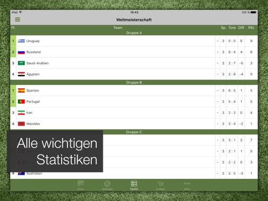 Pocket Liga - Fussball Live-ipad-3