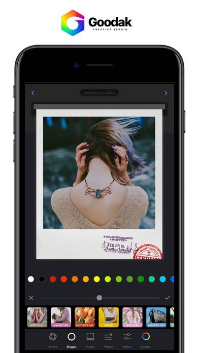 Screenshot #1 pour Goodak Edit - Photo Editor Cam