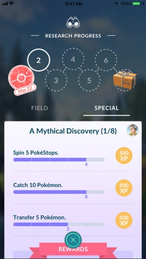 Pokémon GO Screenshot