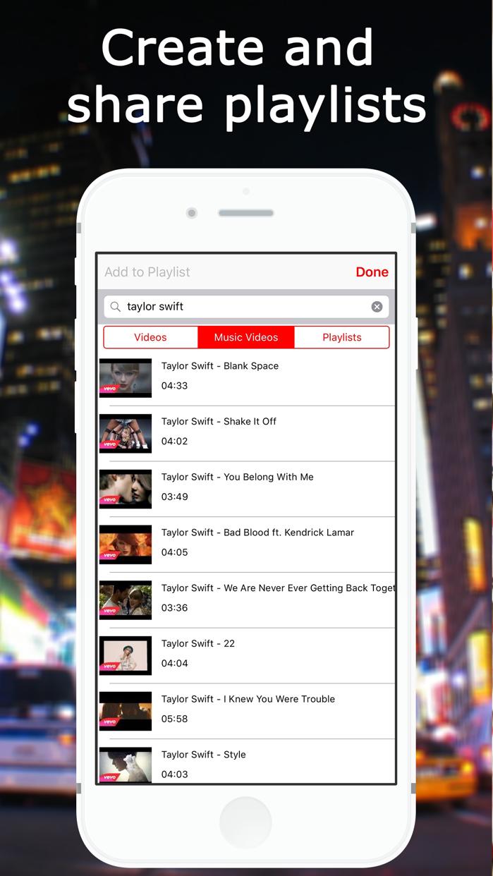 Music TV - Player for YouTube Screenshot