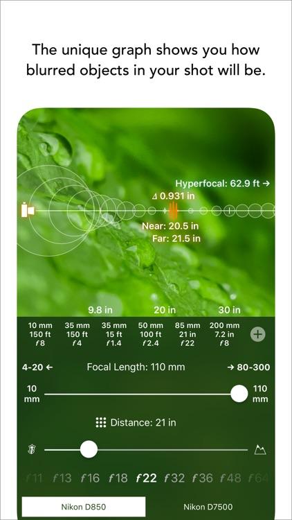FocusFinder DoF Calculator
