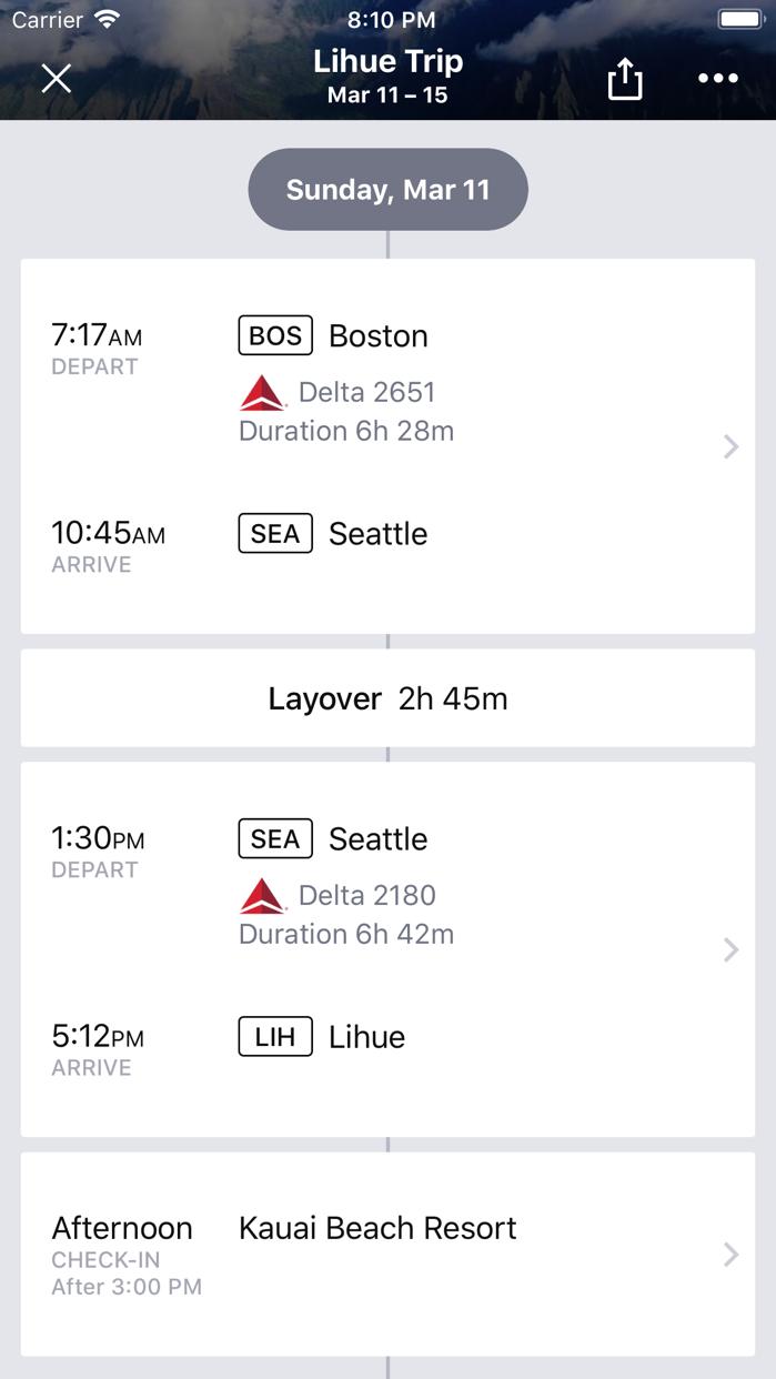 Cheapflights Flights & Hotels Screenshot