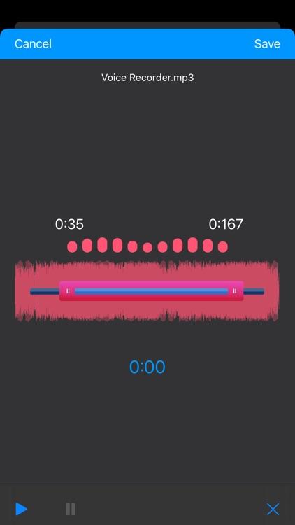 Voice Recorder, Voice Memos screenshot-7