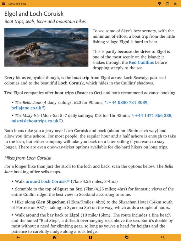 Scotland's Best: Travel Guide screenshot 9