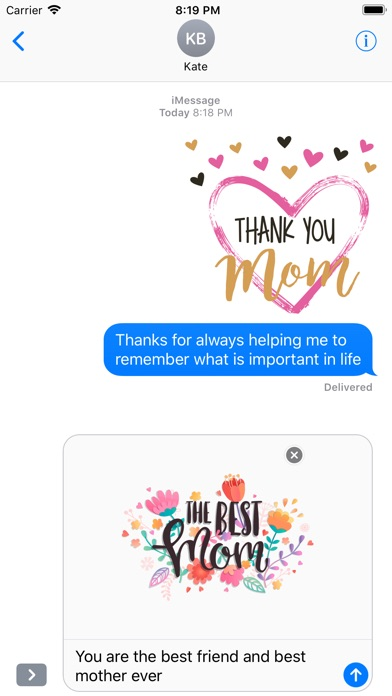 All about Mother's Day Sticker screenshot 5