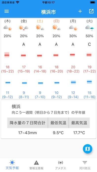 気象庁天気・防災情報のおすすめ画像2