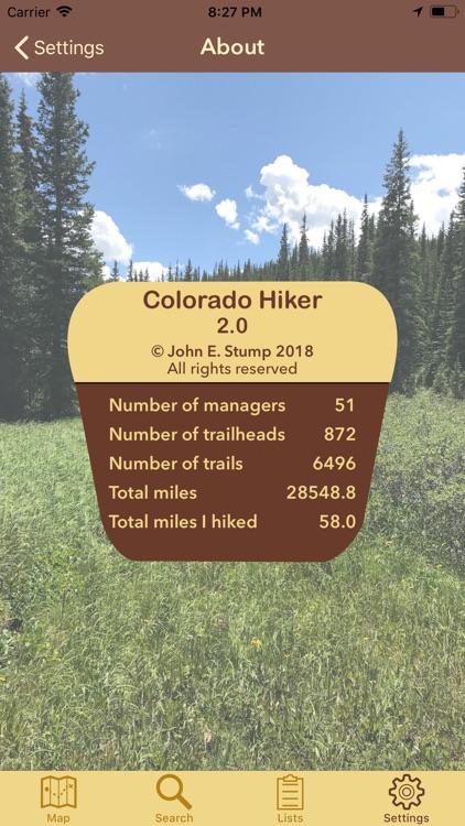 Colorado Hiker screenshot-8