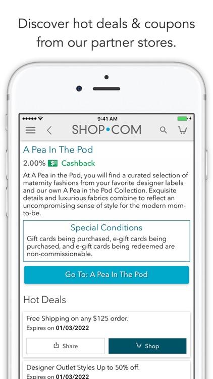 SHOP.COM Mobile -Earn Cashback screenshot-3