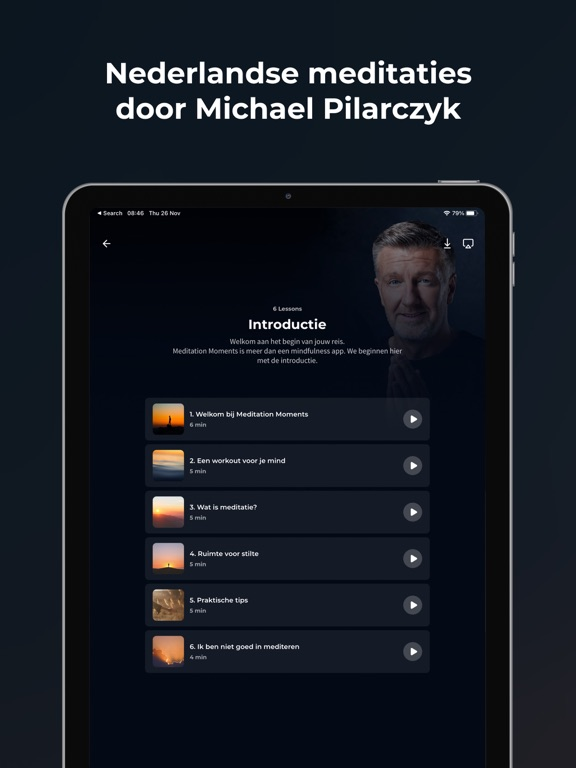 Meditation Moments iPad app afbeelding 4