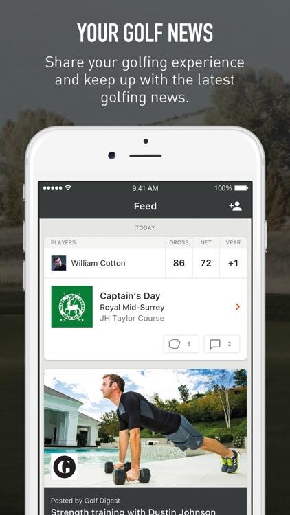VPAR Golf GPS, Scoring & Stats screenshot-4