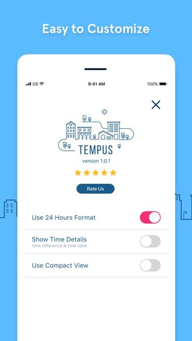 GlobeTempus+ Convert Time Zone Screenshots