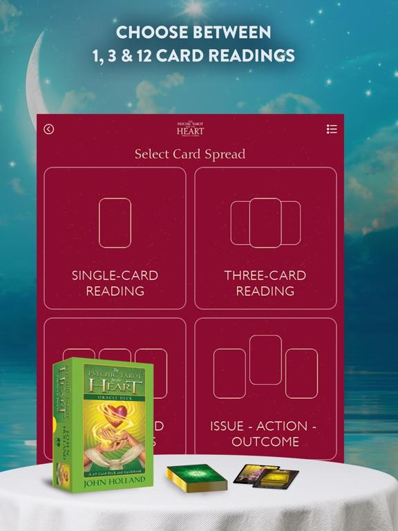 Psychic Tarot for the Heart screenshot 9