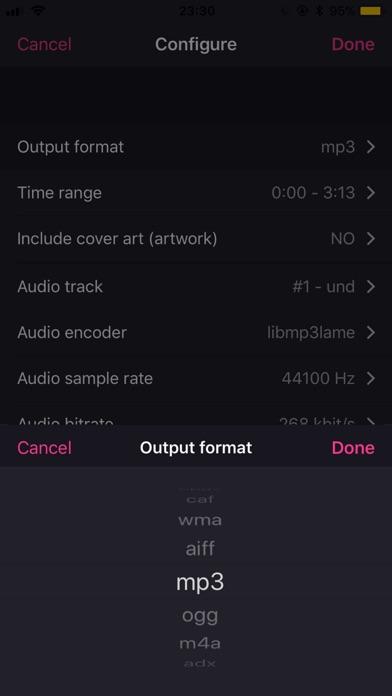 MP3 Converter - Extract audio Screenshots