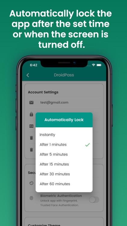 DroidPass Password Manager screenshot-6