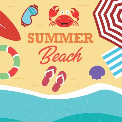 Summer Beach Emojis