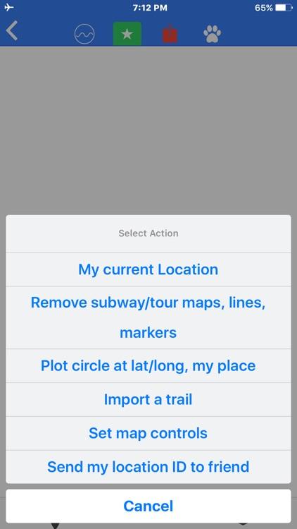 Skyline Dr Shenandoah Tour Map screenshot-4