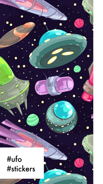 UFO Stickers Pro