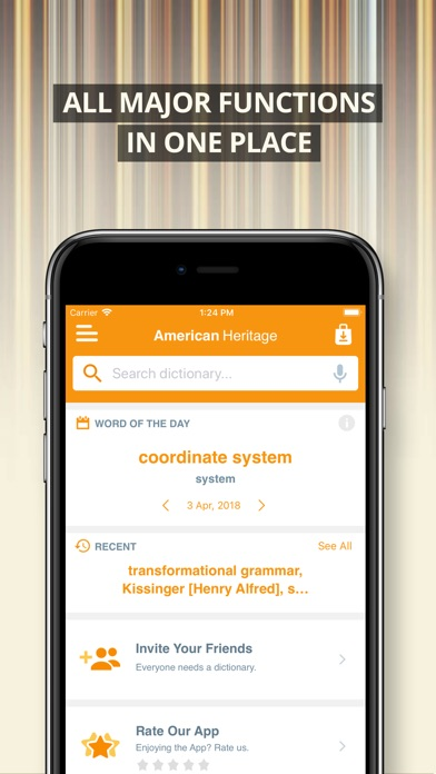 American Heritage Thesaurus - App - Download Apps Store