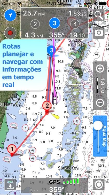 Aqua Map Brasil - GPS Náutico