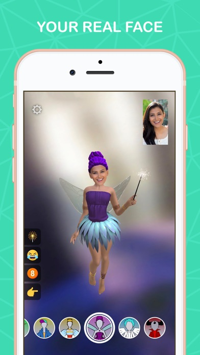 Screenshot #2 for Meo: Your real AR avatar