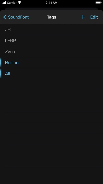SoundFonts screenshot-9