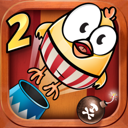 Ícone do app Drop The Chicken 2 The Circus
